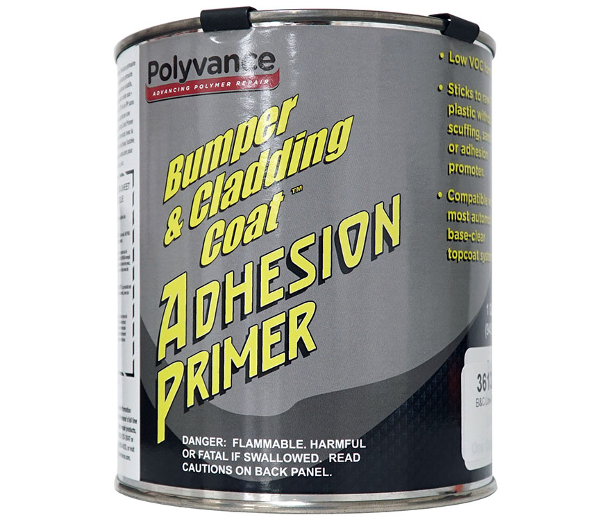 Bumper And Cladding Adhesion Primer Low Voc White Quart