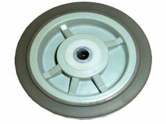 6 in. Gray Wheel for cart