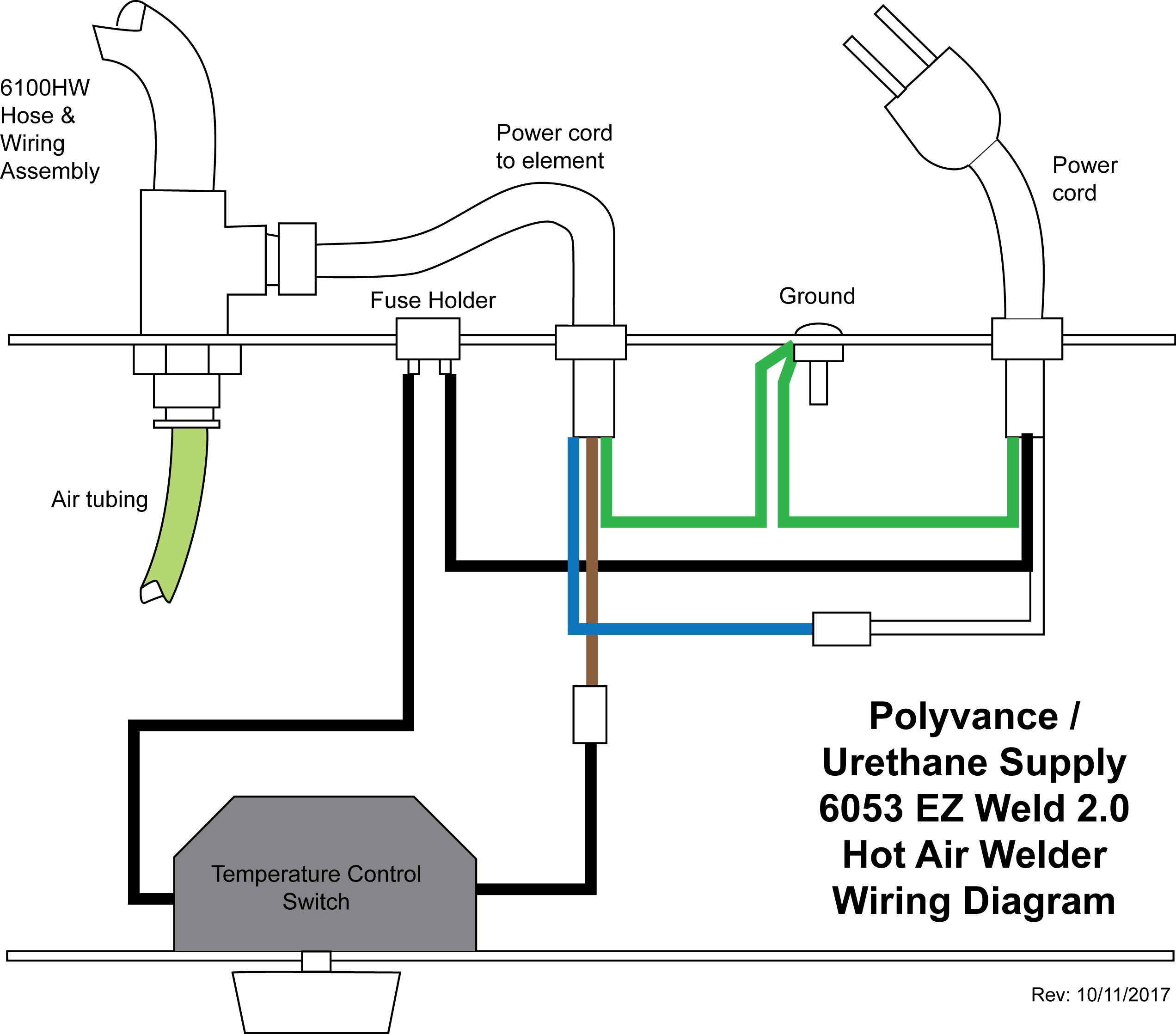 Hot Air Welder Wiring Diagram Just Another Blog 240v Hose Assembly Parts Rh Polyvance Com