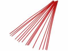Red Polypropylene Welding Rod