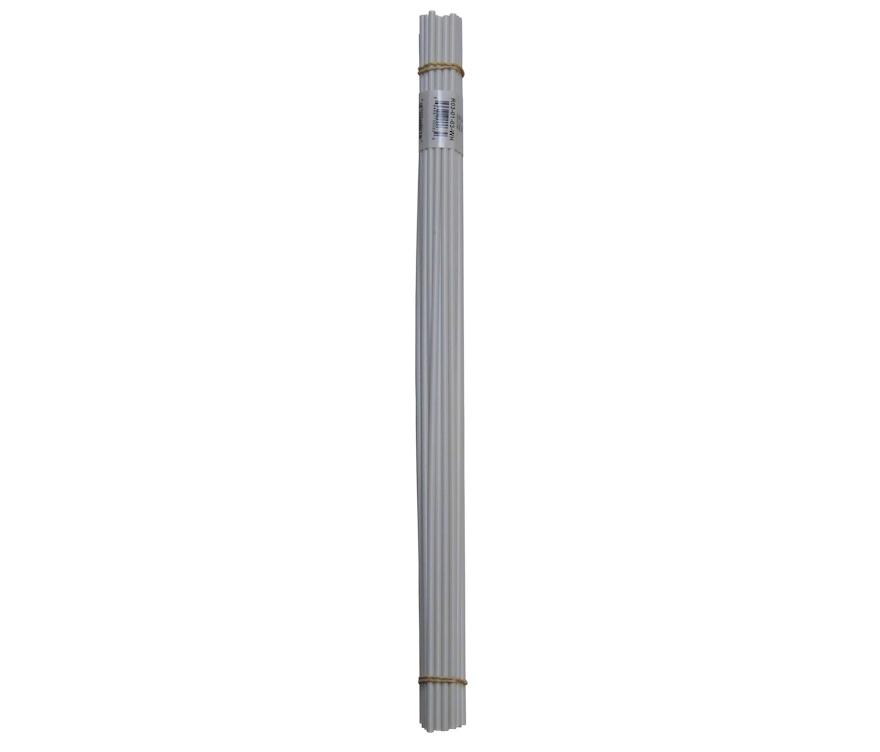 PP Plastic welding rods 3mm white pack of 30 pcs //triangular//