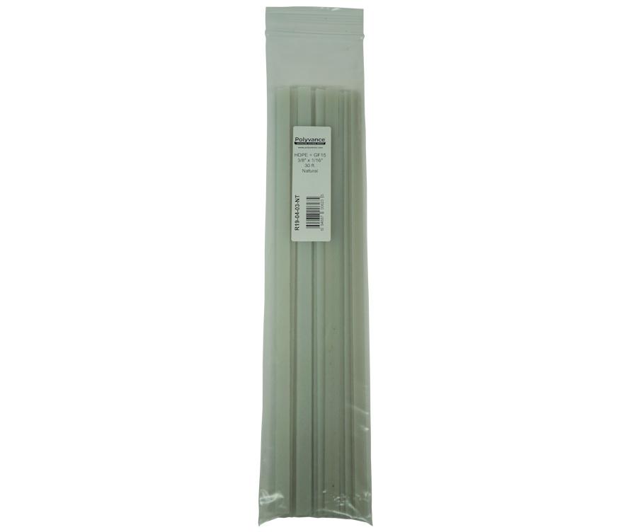 PP + GF15 plastic welding rods Polyvance Polyvpropylene Black 30 feet 15/% Glass Fiber