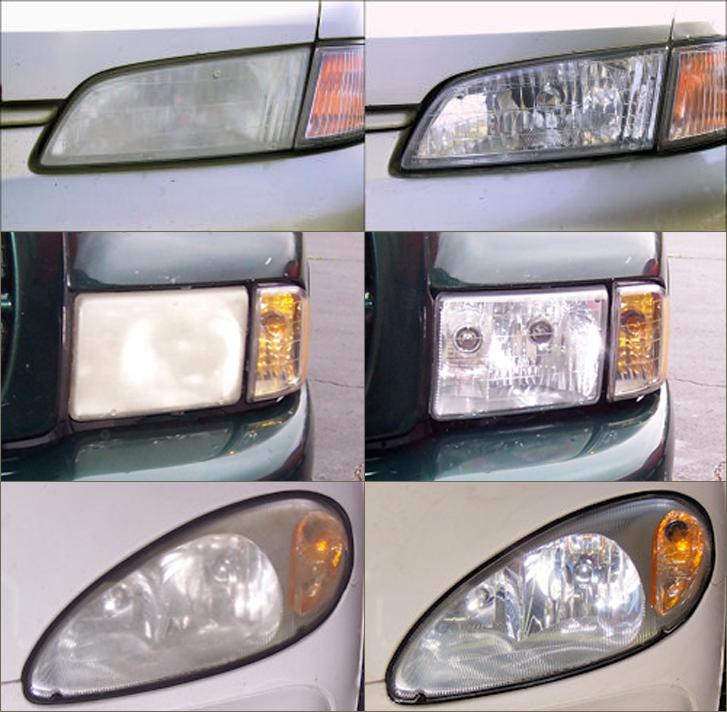 Restore Cloudy Yellow Headlights