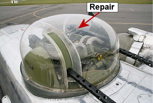 It makes me proud knowing I helped keep an original part of a historic aircraft operational. I think there are many other irreplaceable parts like this that ... & Airplane Canopy Repair
