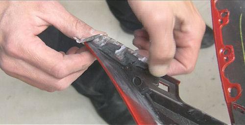 Repair Tab With Nitrogen Welder