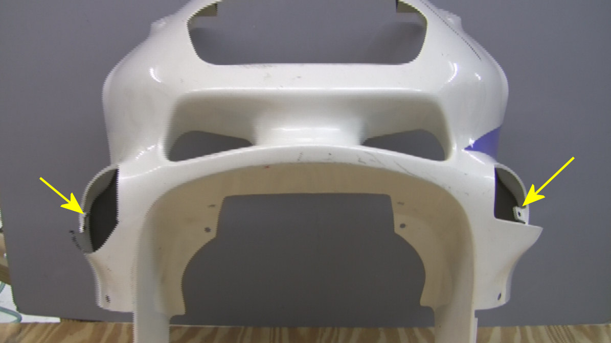 Replace A Missing Tab On Motorcycle Fairing With Plastifix Kit