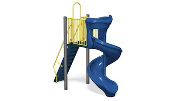 Rotomolded Playground Slide