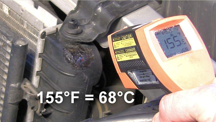 Plastic Radiator Repair