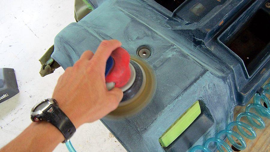Wet Sanding Clear Coat >> How to Paint ATV Plastic
