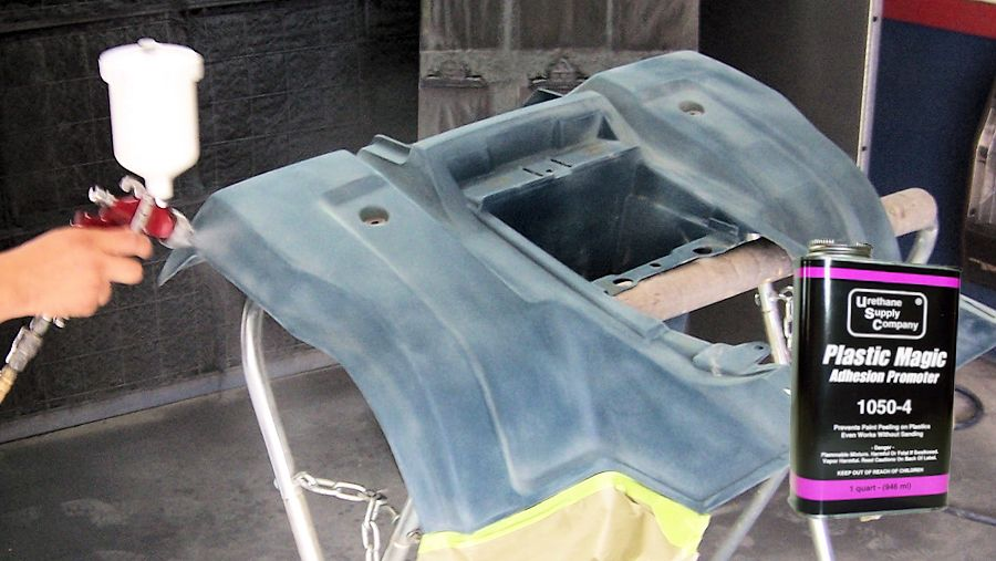 Can You Fill And Sand Plastic Car Parts
