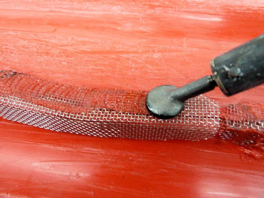 Abs Plastic Crack Repair Caravan Bodywork Caravan Talk