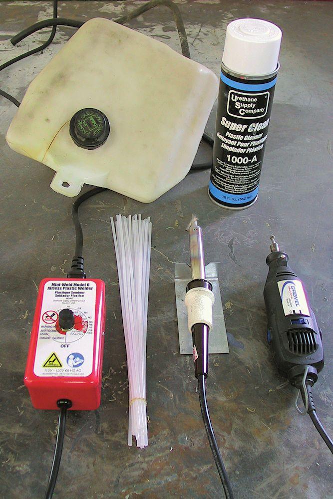 Radiator Overflow Tank Repair