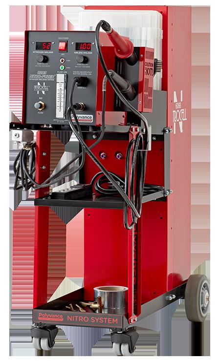 8203 Nitro-Fuzer® digital nitrogen plastic welder with generator
